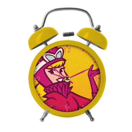 Relógio Despertador de Mesa Penelope Charmosa