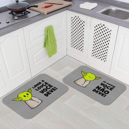 Kit Tapetes de Cozinha  DrPepper Mestre MiniOda