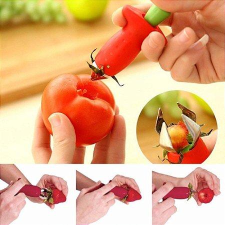 Removedor De Talos E Folhas Morango Tomate Frutas