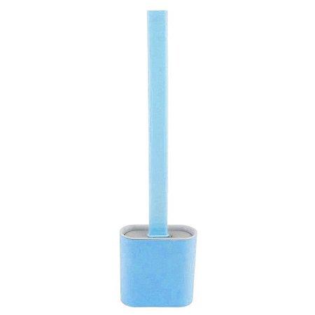 Escova sanitária em silicone - azul