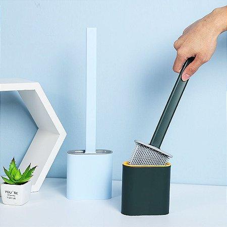 Escova sanitária com cerdas em silicone Alcança Cantos