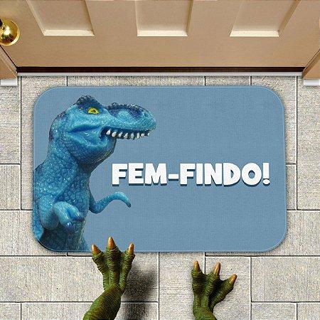 Tapete Decorativo MEME Tiranofauro Rex Fem-Findo