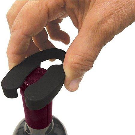 Cortador de Lacres Garrafas de Vinho Champanhe Aço Inox