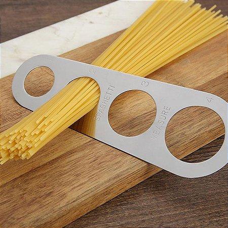 Medidor de Espaguete Italia - aço inox
