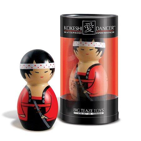 Kokeshi Dancer - Massageador em formato de Samurai