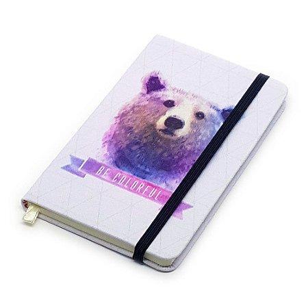 Caderneta de Anotação Be Colorful - urso
