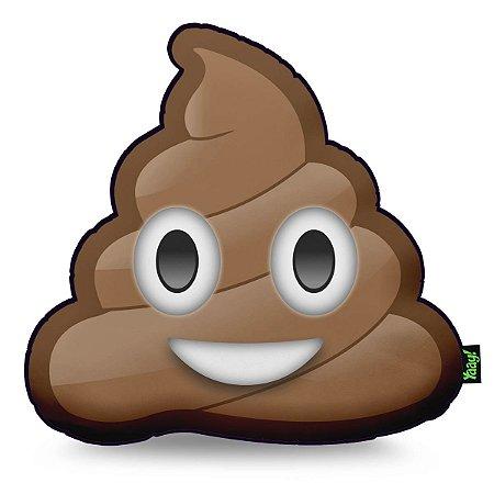 Almofada Emoticon - Emoji Cocozinho Poop