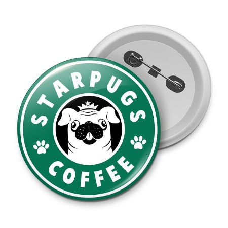 Botton StarPugs Coffee