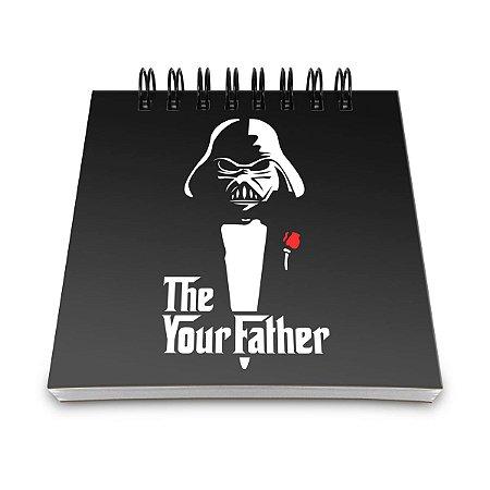 Bloco de Anotações Geek Side - The Your Father