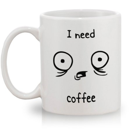 Caneca I Need Coffee