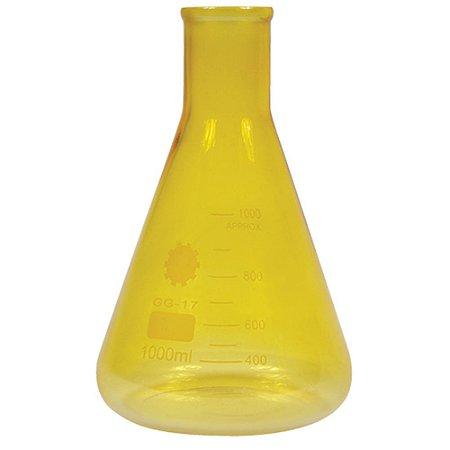 Garrafa Cience with Measures - amarelo
