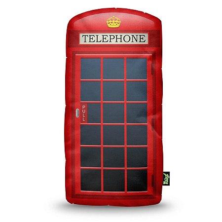 Almofada Cabine Telefônica London Telephone