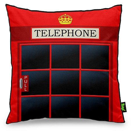 Almofada London Telephone - Cabine Telefônica