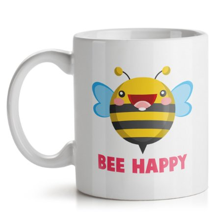 Caneca Abelha Bee Happy