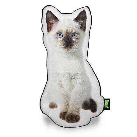 Almofada Coleção Cute Cats - Siamês
