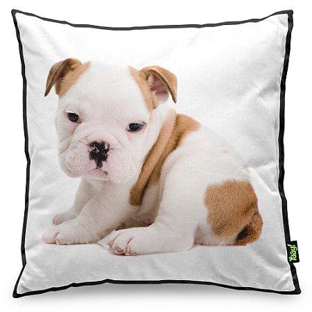 Almofada Love Dogs Black Edition - Bulldog Inglês