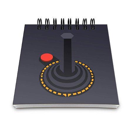 Bloco de Anotações Joystick Retrô