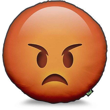 Almofada Emoticon - Emoji Bravo