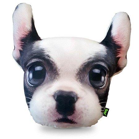 Almofada Big Head Bulldog