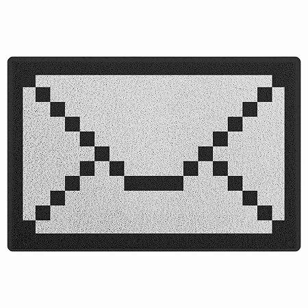 Capacho em Vinil Carta 8 bit - 60 x 40