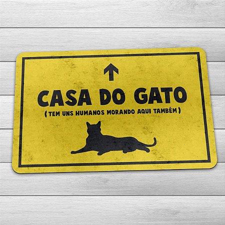Capacho Eco 3mm Casa do Gato