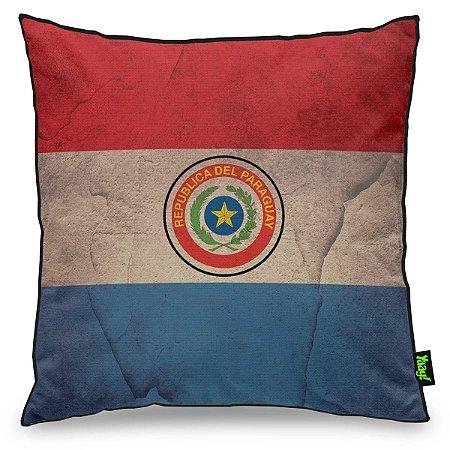 Almofada Bandeira do Paraguai