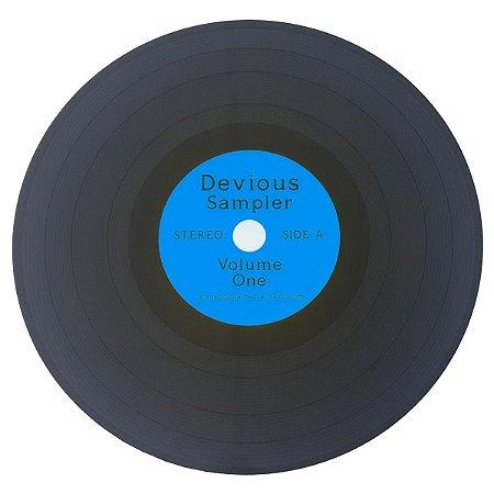 Lugar Americano Disco de Vinil Devious Sampler - azul