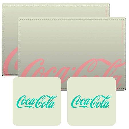 Jogo Americano Coca-Cola - 4 peças