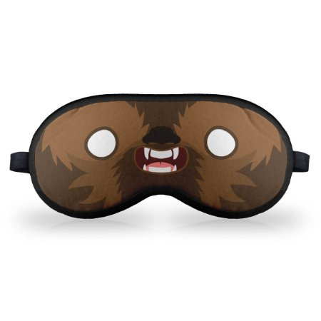 Máscara de Dormir em neoprene Geek Side Faces - Chill Bacca