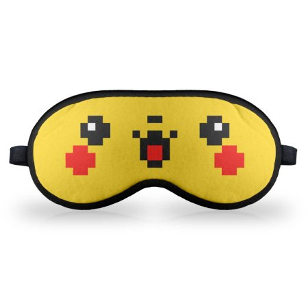 Máscara de Dormir em neoprene Pixelchu