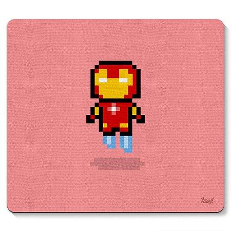 Mouse pad  Iron Pixel Man