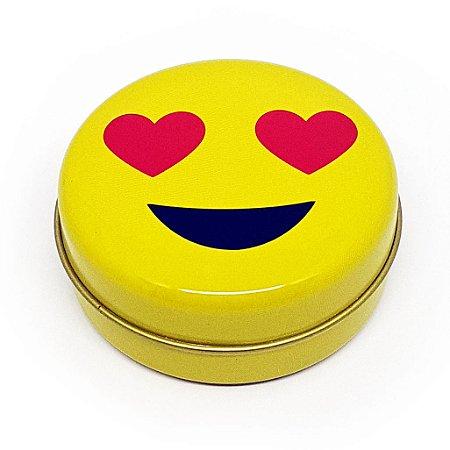 Latinha Emoticon - Emoji Amor