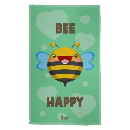 Pano Multiuso em Microfibra Abelha Bee Happy