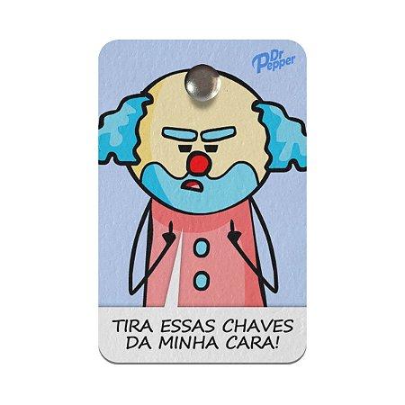 Porta Chaves Ecológico DrPepper - Paiaço impaciente