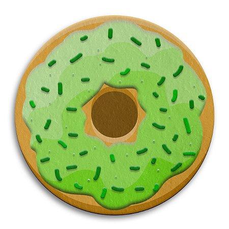 Porta Copo Ecológico Imã Donut - Limão