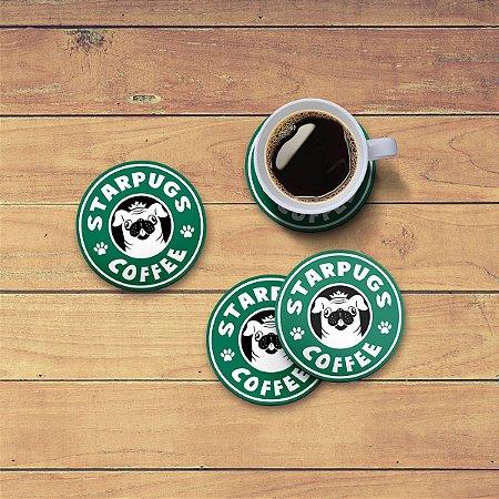 Porta Copos StarPugs Coffee