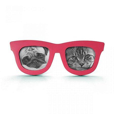Porta Retrato Duplo Óculos - cores sortidas