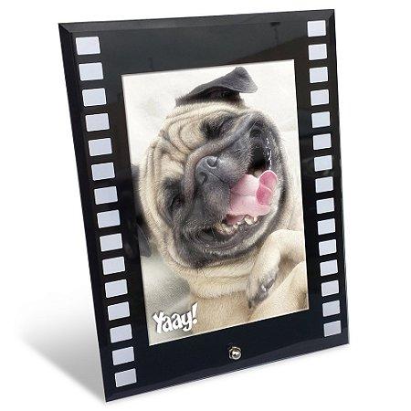 Porta Retrato de vidro Filme - vertical