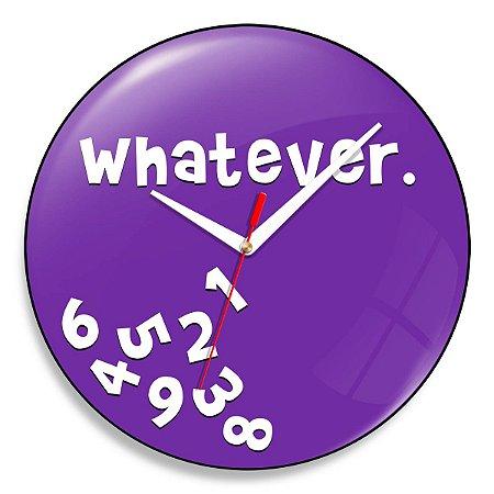 Relógio de Parede Whatever - 30 cm