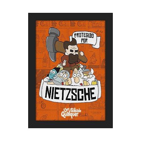 Quadro USQ Protegido por Nietzsche
