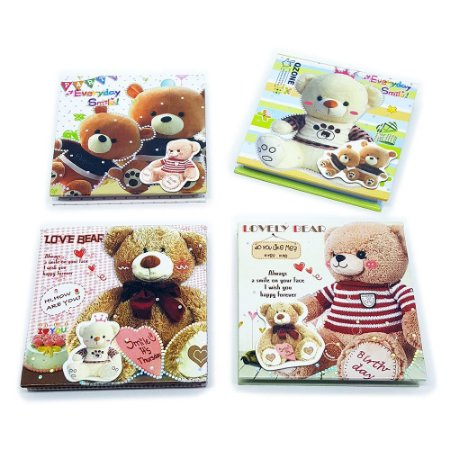 Bloco de Anotações - Tema Love Bear Ursinho