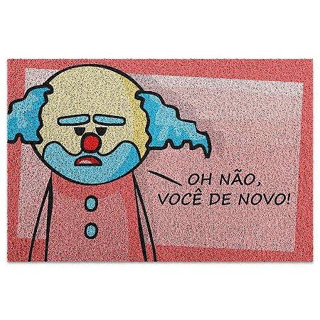 Capacho em Vinil DrPepper Paiaço Você De Novo - 60 x 40