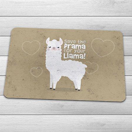 Capacho Eco Slim 3mm Save The Drama For Your Llama