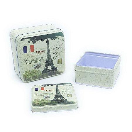 Jogo de latas Torre Eiffel - 2 unidades