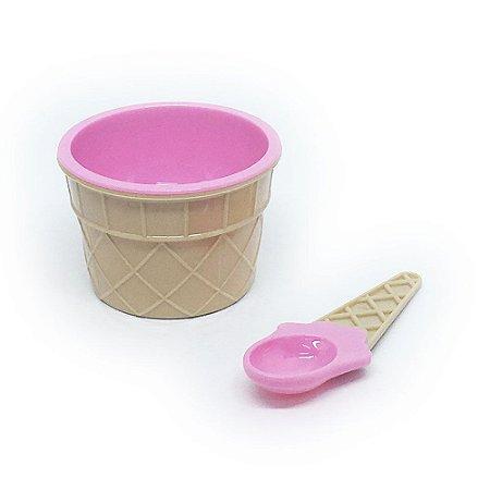 Tigela Sorvete - rosa
