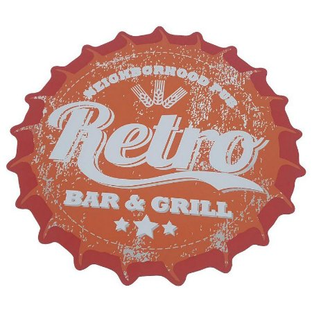 Lugar Americano tampa de garrafa Retro Bar & Grill