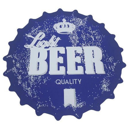 Jogo Americano tampa de garrafa Light Beer Quality