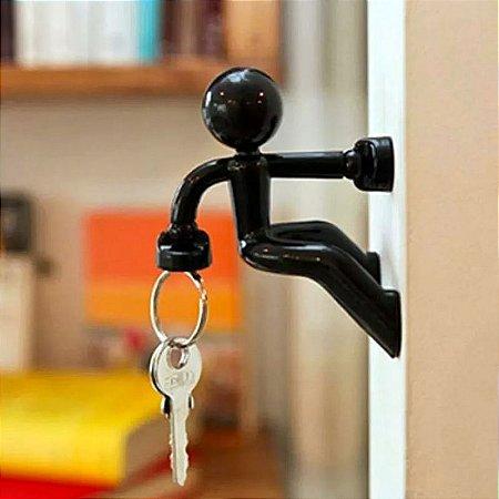 Porta chaves boneco Escalador magnético Multiuso