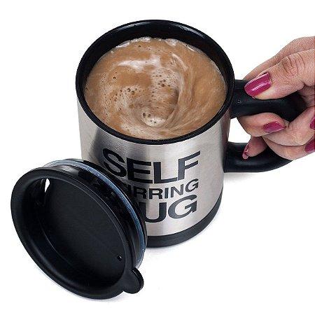Caneca Self Stirring Mug Mexedor Automático