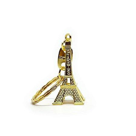 Chaveiro em Metal Torre Eiffel - dourado